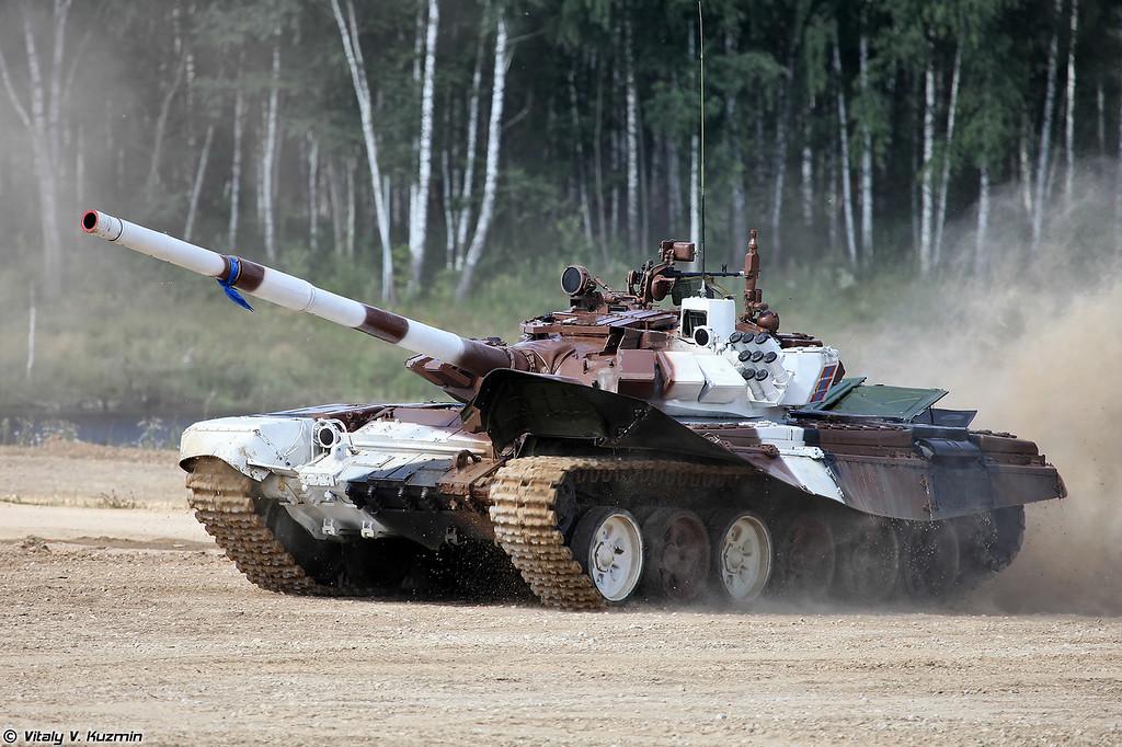 Танк Т-72Б3 команды Монголии (T-72B3 Mongolia)