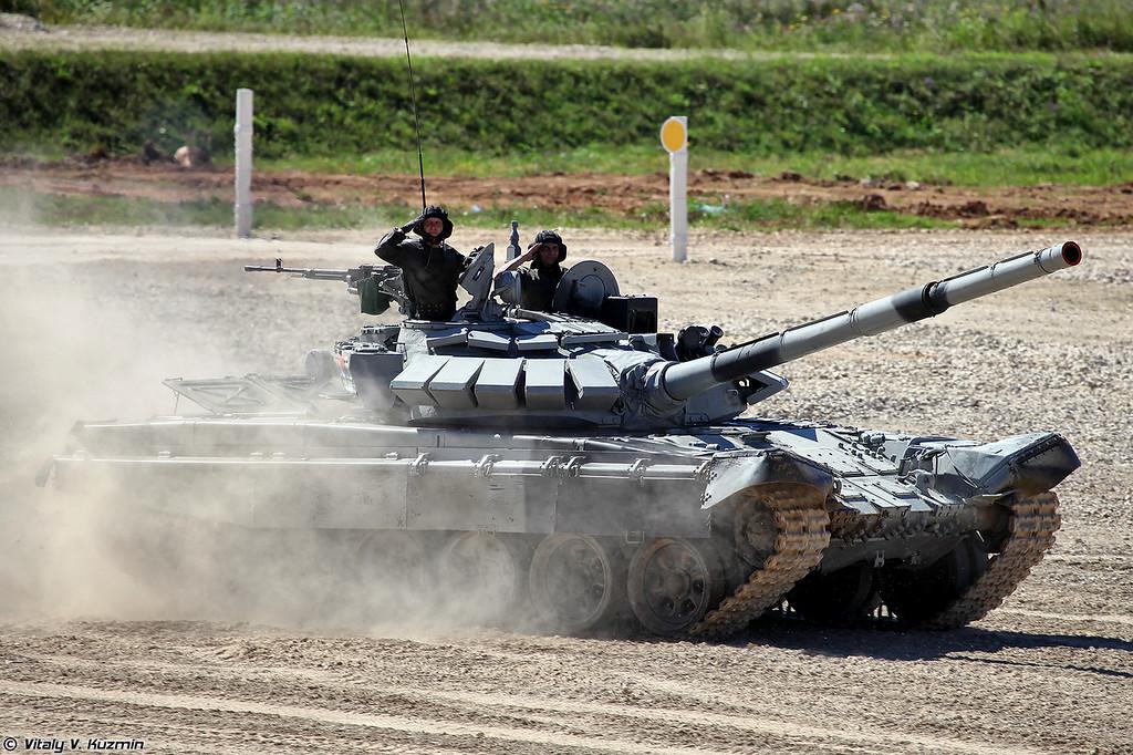 Танк Т-72Б3 команды Сербии (T-72B3 Serbia)