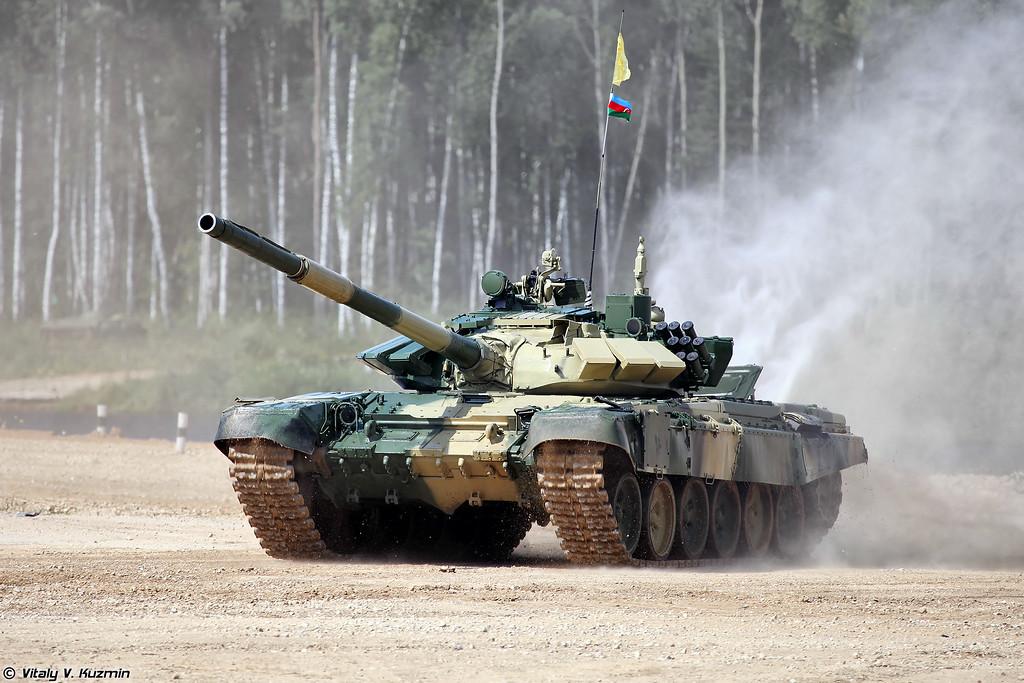 Танк Т-72Б3 команды Азербайджана (T-72B3 Azerbaijan)
