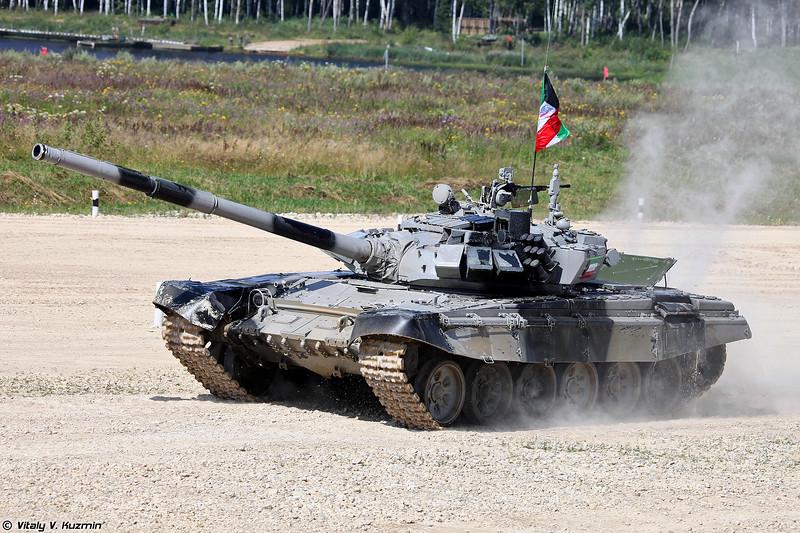 Танк Т-72Б3 команды Кувейта (T-72B3 Kuwait)