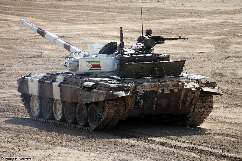 Танк Т-72Б3 команды Зимбабве (T-72B3 Zimbabwe)