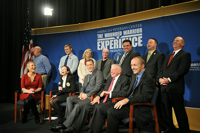 AVC's The Wounded Warrior Experience panel hosted by Jennifer Griffen
