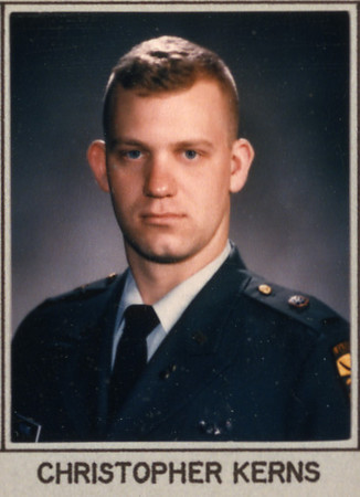 Purdue ROTC Graduation picture.  1995