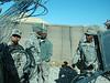 From left to right: Mendoza (driver), Webster (gunner), Lee (dismount), SSG Harris (guy from 1-91 Cav).