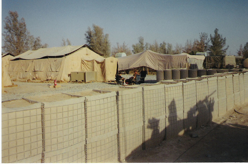 2003 - Living quarters in Kandahar Airfield, Afghanistan