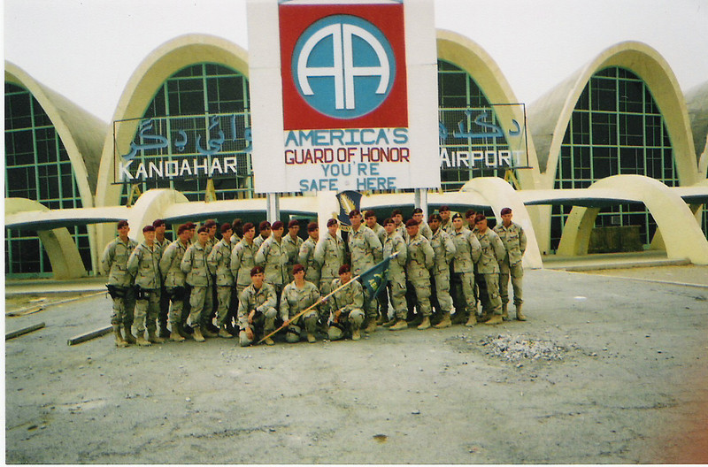 2003 - 2nd Platoon, 118th Military Police Company (Airborne) - Kandahar International Airport, Afghanistan