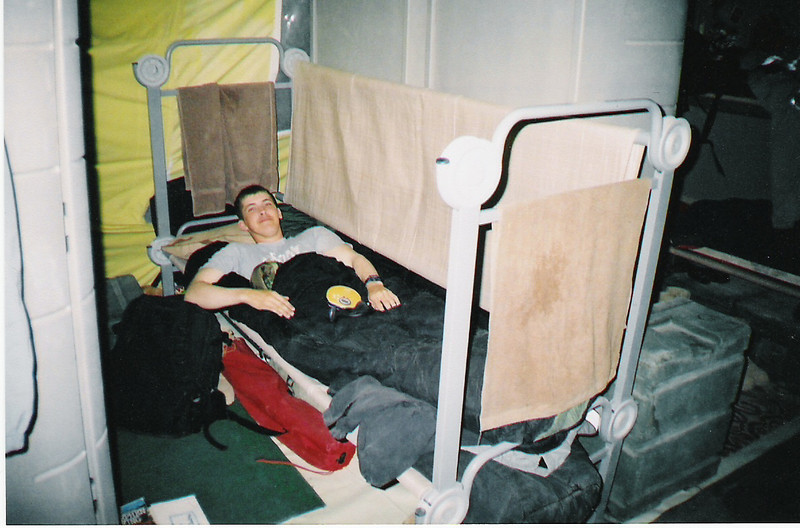 2003 - The top bunk becomes the bottom bunk