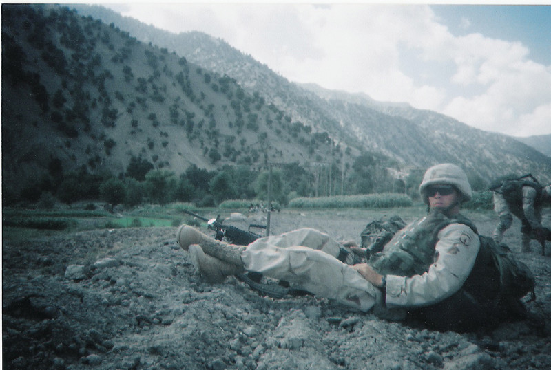 2003 - Off of the helicopters, waiting for mission