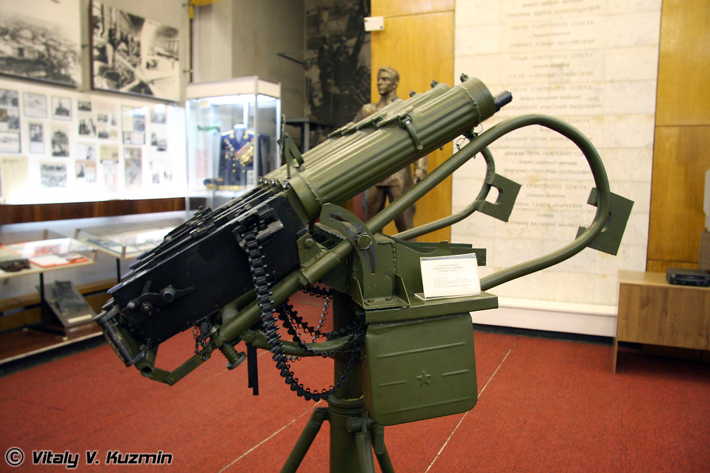 Счетверенная зенитная установка обр. 1931г. (Quad machinegun 1931 model)