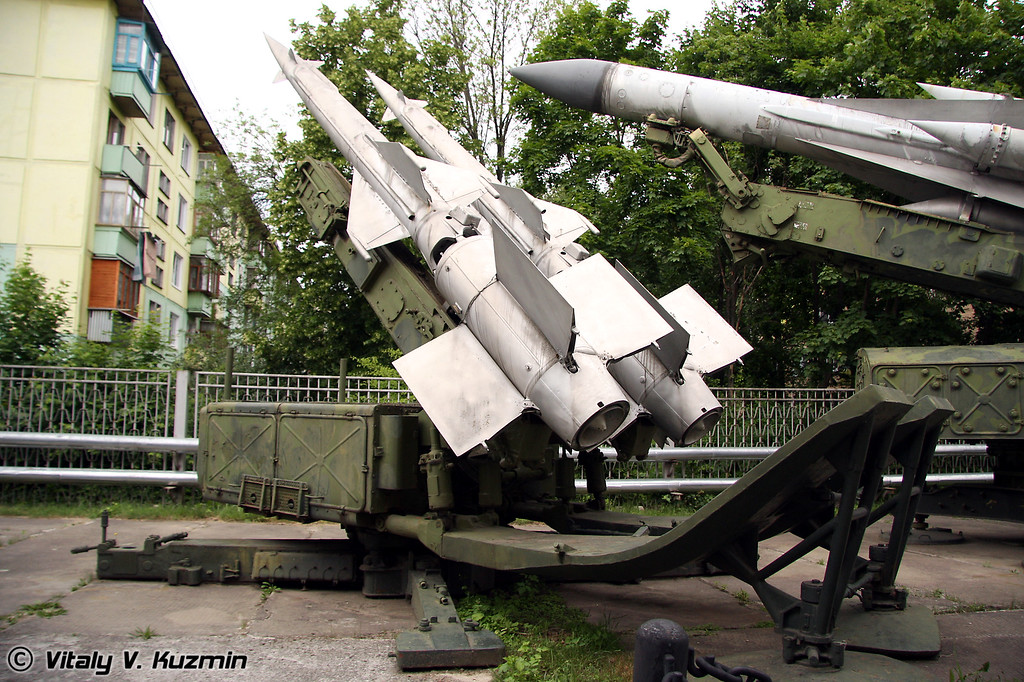 ЗУР комплекса С-125 (Surface-to-air missiles from S-125 system)