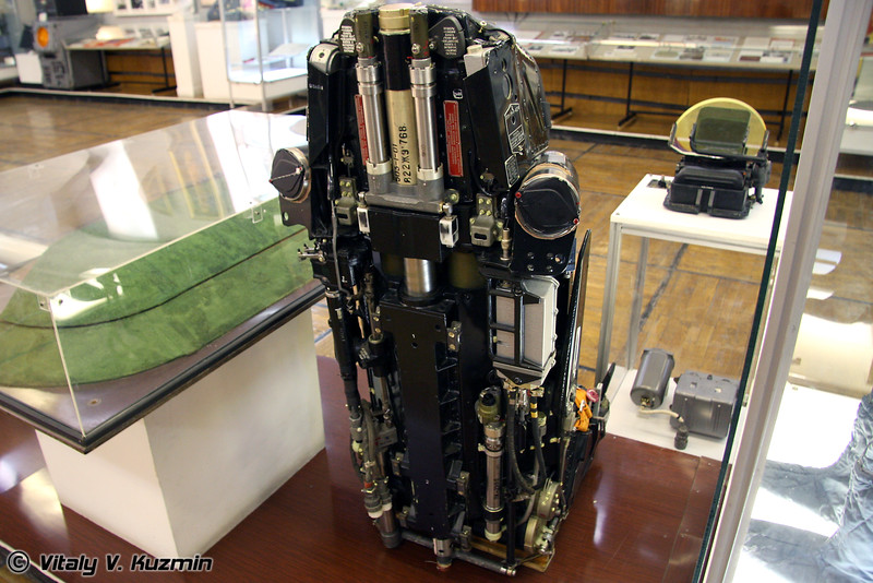 Катапультное кресло К-36ДМ (Ejector K-36DM)