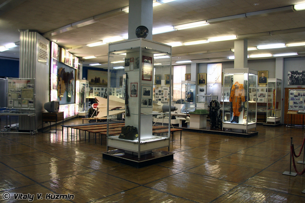 Общий вид зала (Common view of museum hall)