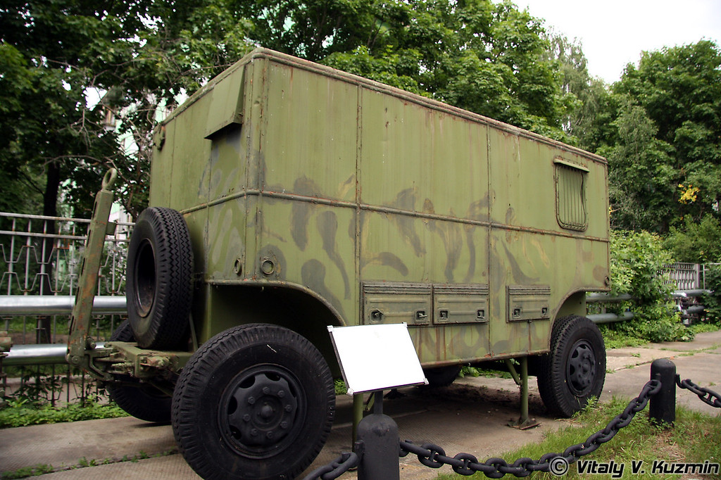 Прибор управления артиллерийский зенитным огнем ПУАЗО-30 (Air-defence fire control device PUAZO-30)