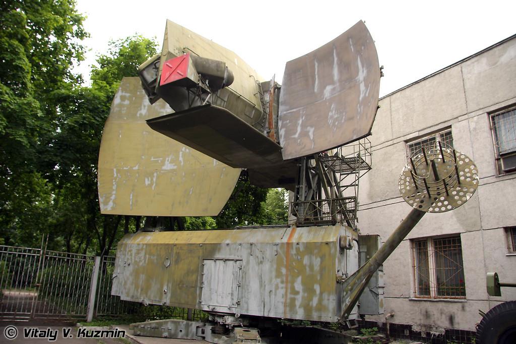 Радиолокатор подсвета цели - кабина К-1В (Sighting radiolocator - cabin K-1V)