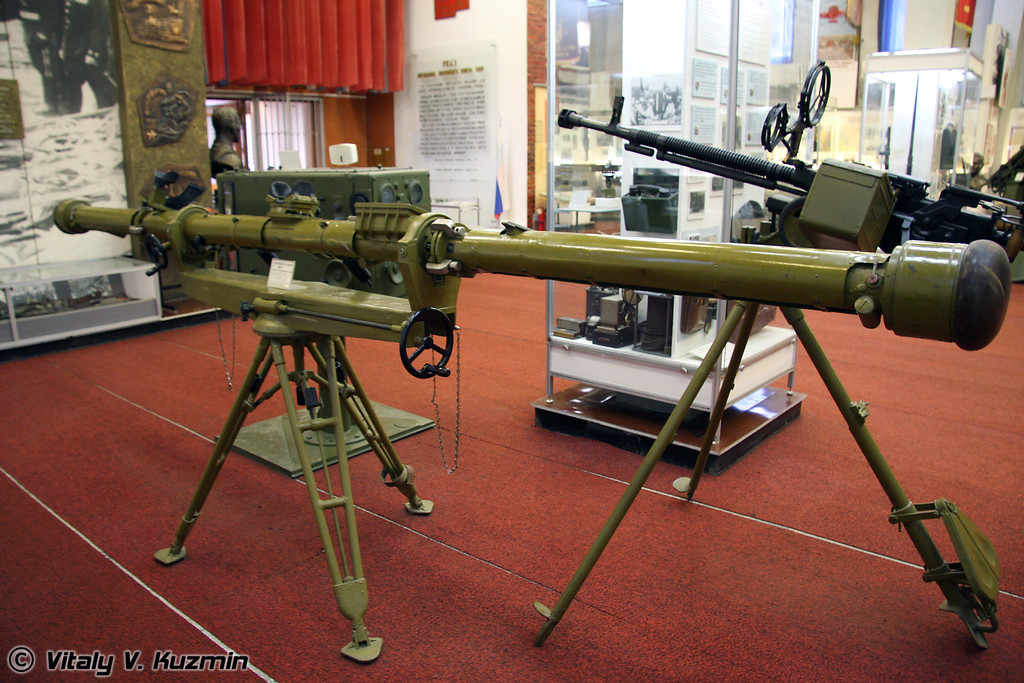 Стереоскопический дальномер ДЯ-1 (Range finder DYa-1)