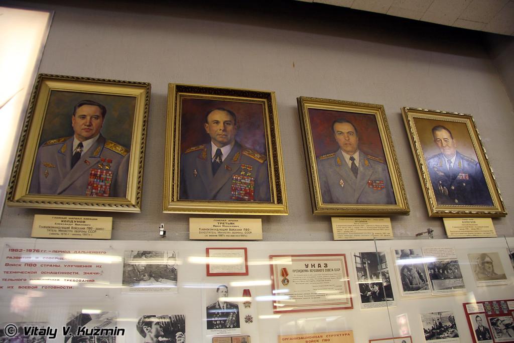 Главнокомандующие Войсками ПВО (Air Defence Forces Commanders in Chief)