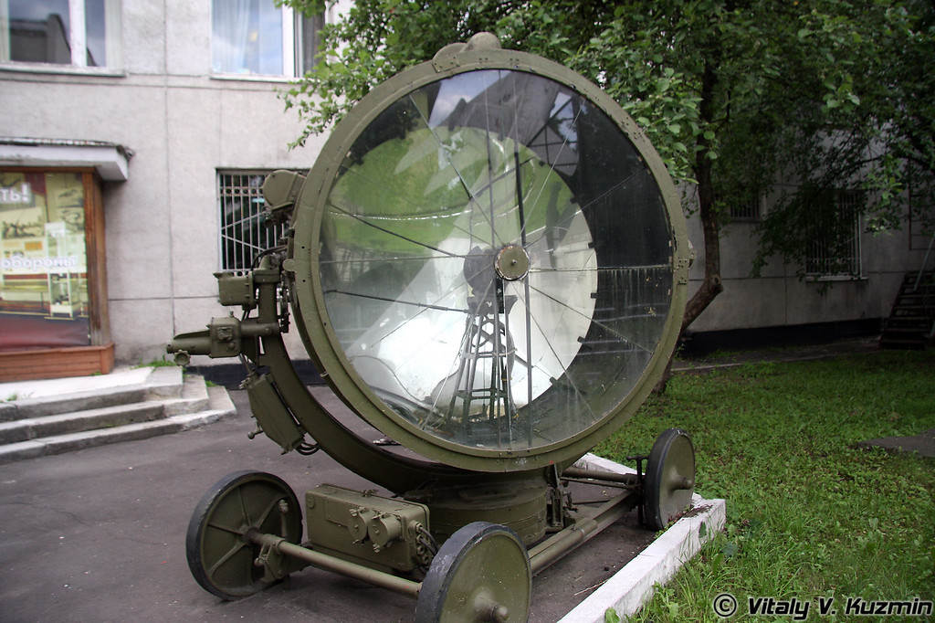 Зенитный прожектор З-15-4Б образца 1939г. (3-15-4B searchlight 1939 model)