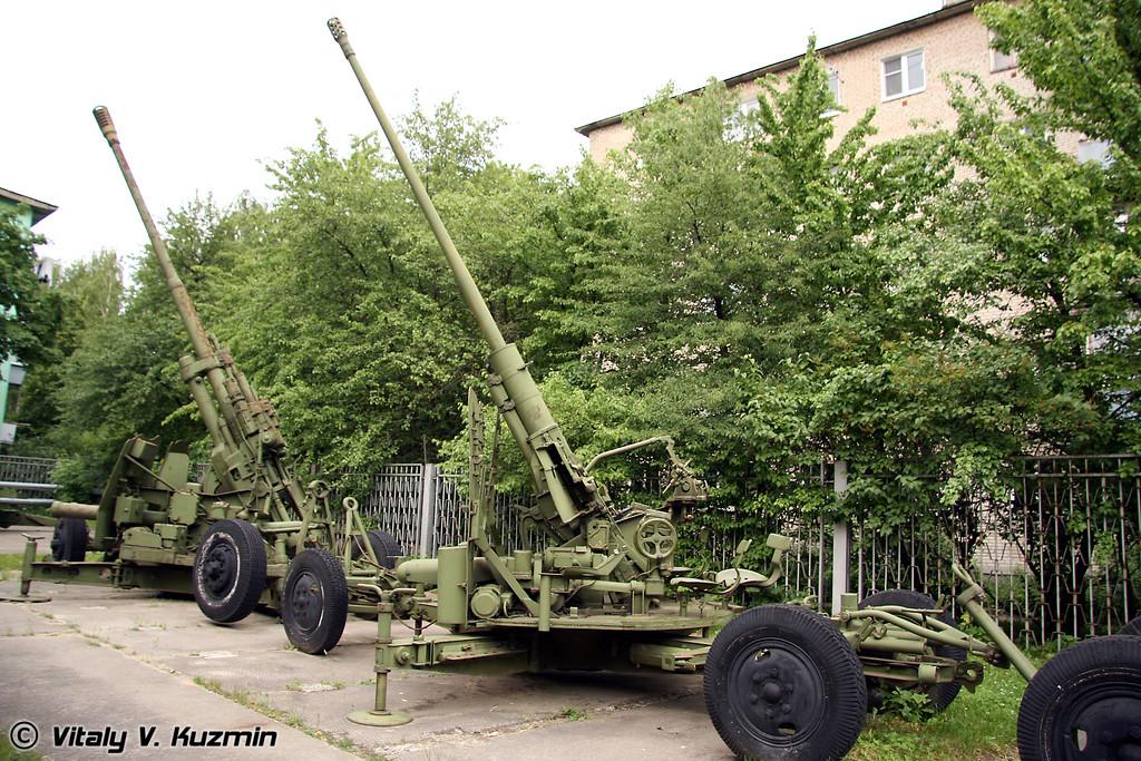 57-мм зенитная пушка С-60 (57-mm AA gun S-60)