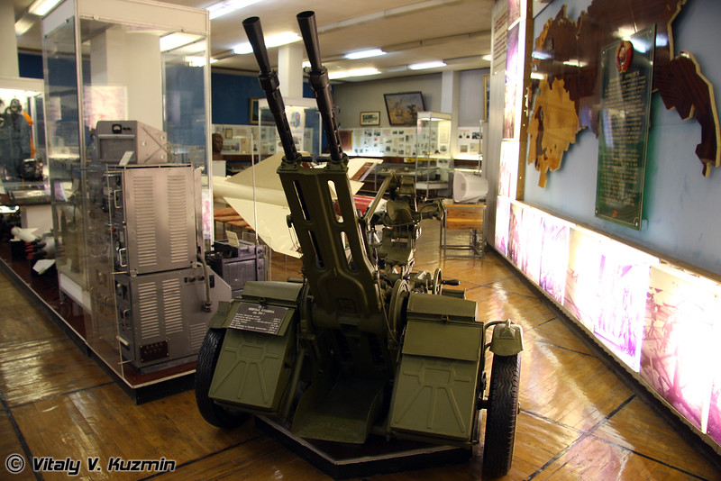 Зенитная установка ЗУ-2 (ZU-2 antiaircarft gun)