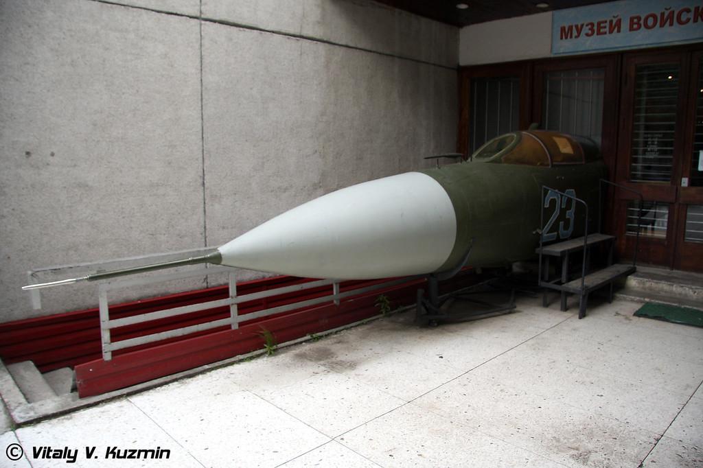 Носовая часть МиГ-23 (MiG-23 nose part)