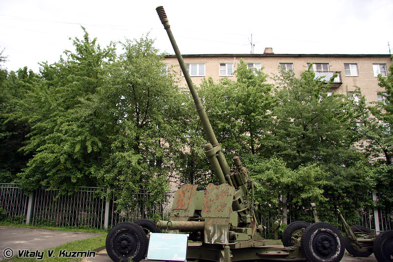 100-мм зенитная пушка КС-19 (100-mm AA gun KS-19)