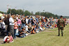 Crowd Watching Military Dog Demostration