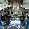 C-141 Cockpit; Center view and Jump Seat.<br />  ~ Image by Martin McKenzie All Rights Reserved ~
