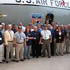"Charleston, AFB Starlifter Farewell attendees pose with the, ""Hanio Taxi"", for a group shot.<br />  ~ Image by Martin McKenzie All Rights Reserved ~"