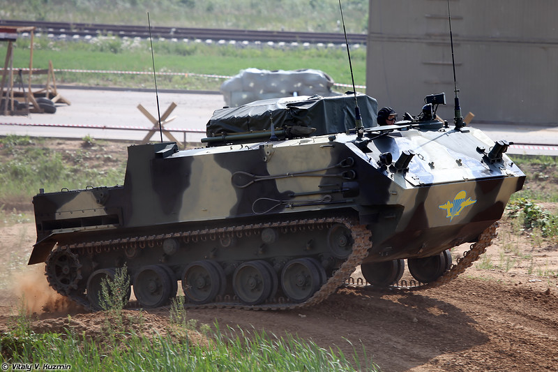 Модуль разведки и управления 9С932-2 из состава КСА ПВО Барнаул-Т (9S932-2 intelligence and control module of Barnaul-T AD system)