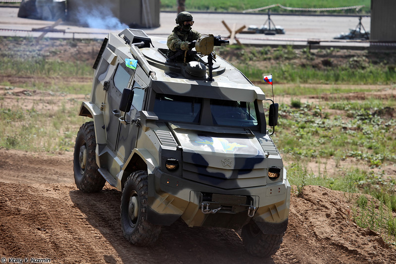 Бронеавтомобиль Торос (Toros armored vehicle)