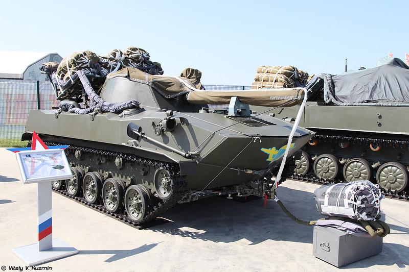 2С9 Нона-С (2S9 Nona-S self-propelled artillery)