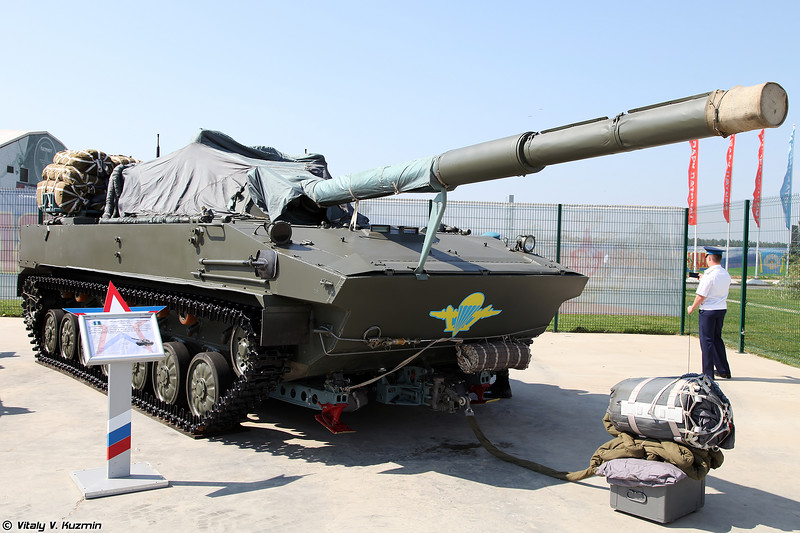 2С25 Спрут-СД (Self-propelled tank destroyer 2S25 Sprut-SD)