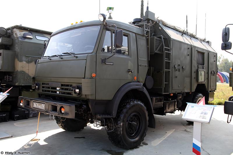 КШМ Р-142ДА из состава АСУВ Андромеда-Д (R-142DA signal vehicle from Andromeda-D command system)