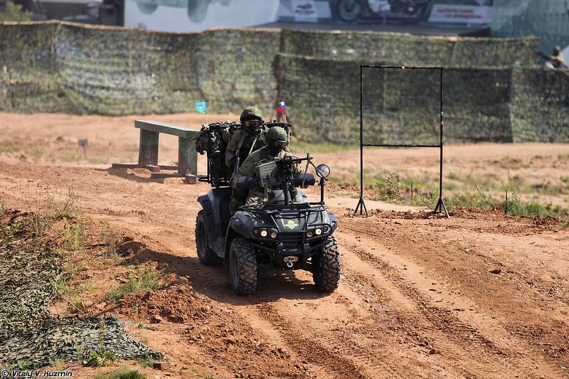 Армейский мотовездеход АМ-1 (AM-1 ATV)