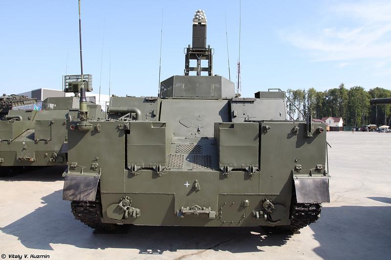 Модуль планирования 9С931-3 из состава КСА ПВО Барнаул-Т (9S931-3 planning module of Barnaul-T AD system)