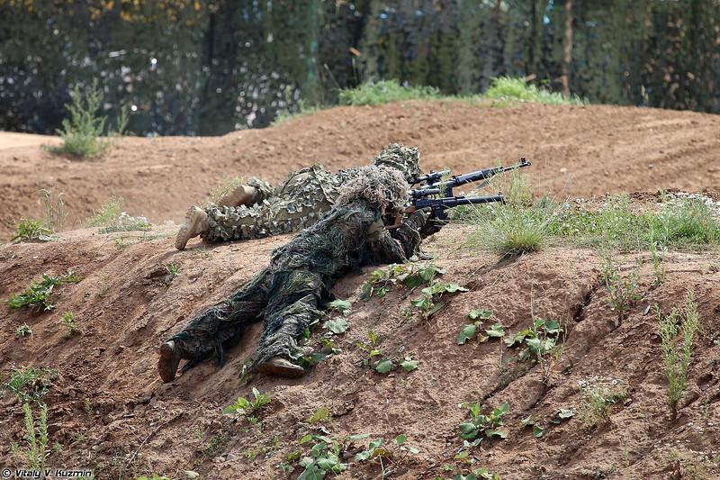Снайперская пара (Snipers)