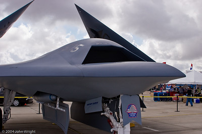 Northrop Grumman X-47 is a demonstration Unmanned Combat Aerial Vehicle.