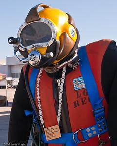 US Navy Mk 21 diving helmet