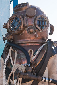 US NAvy Mk V diving suit; replaced in 1984.