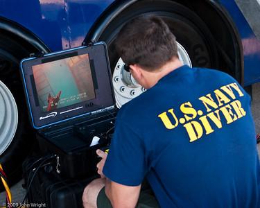 ND2 Matthew Cortez operating the Sea Botix