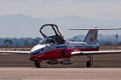 Canadair Tutor of the Snowbirds demonstration team