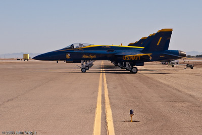Blue Angels on the ramp