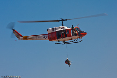 US Navy Search and Rescue (SAR) team from NAS Fallon, Nevada