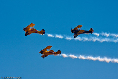 More Stearman formation flying