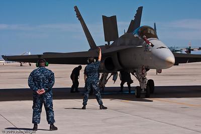 VFA-125 ground crew