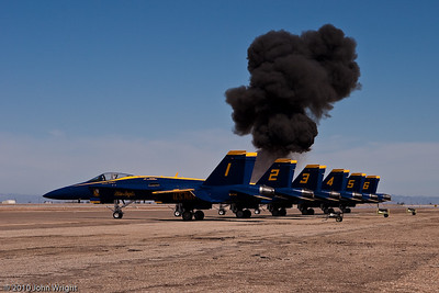 """""""OMG, they bombed the Blue Angels!"""""""