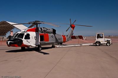 "SH-60F Seahawk of NAS Fallon ""Longhorn"" SAR team"