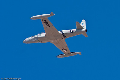 """Lockheed T-33 Shooting Star """"Ace Maker"""" flown by Greg Colyer"""