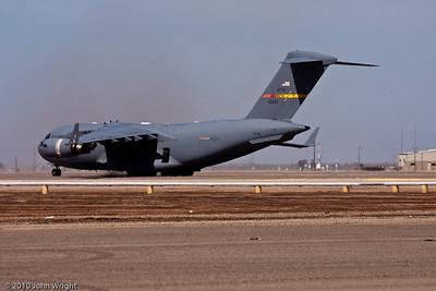 USAF C-17 Globemaster III demonstration