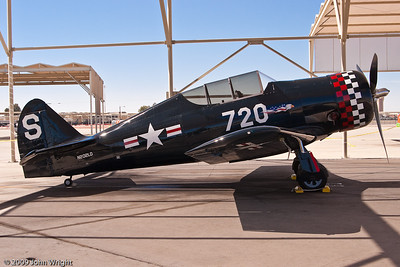 Harvard Mk IV, built by Canadian Car and Foundry.  This is an export version of the T-6 Texan.